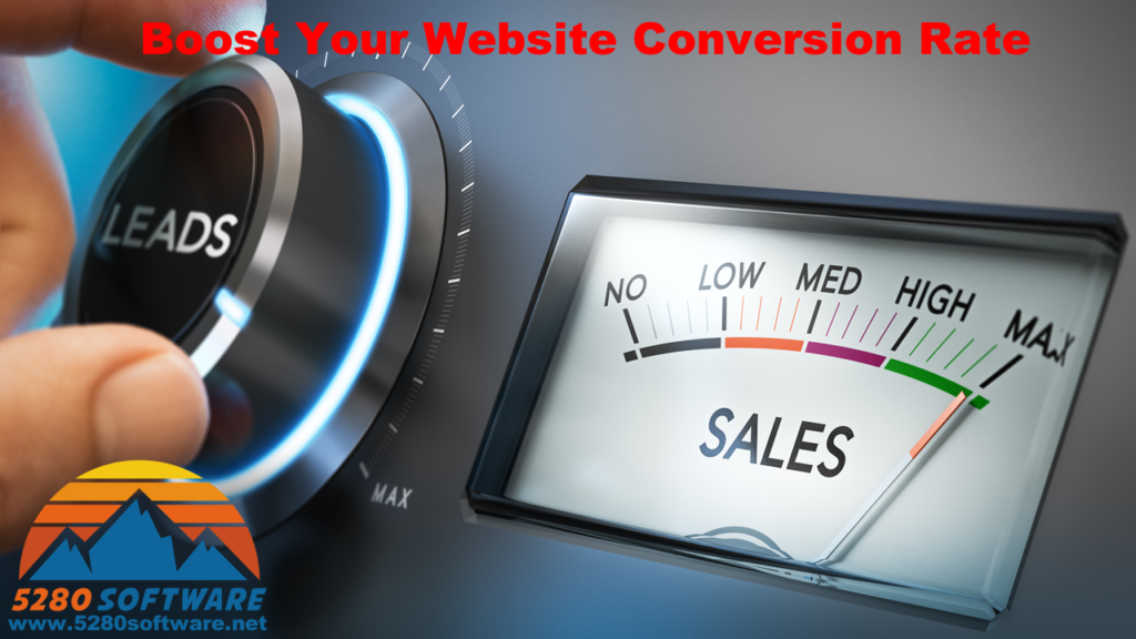 Boost Your Website Conversion Rate